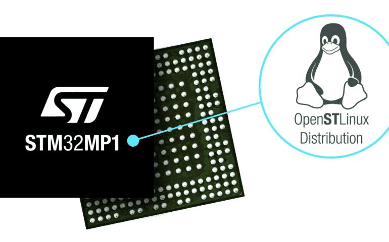 STMicroelectronics revela el primer microprocesador STM32MP1 de múltiples núcleos con soporte de Linux
